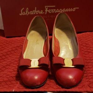 Salvatore Ferragamo Flats